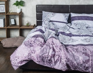 Комплект постельного белья сатин принт