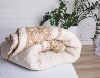 Одеяла с наполнителем: шерсть