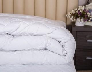Одеяла с наполнителем: пух/перо