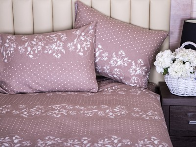 Купить комплект постельного белья из фланели 100% хлопок от производителя. Комплект постельного белья ТМ Новита взрослые расцветки