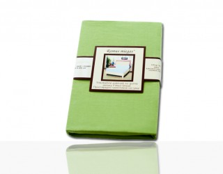 Простынь трикотажная 00-0125 Leaf green