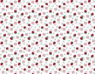 Фланель набивная б/з диз: 10-0152 red