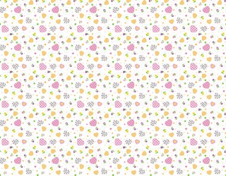 Фланель набивная б/з диз: 10-0395 pink