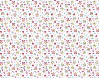 Фланель набивная б/з диз: 10-0396 pink