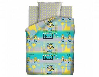 Комплект постельного белья бязь диз: 16143/16144-1 Пиксели