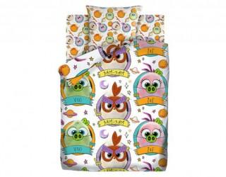Комплект постельного белья бязь диз: 16178-1/16179-1 Птенчики