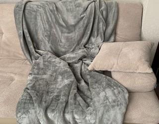 Покрывало well soft диз: 18-0000 Однотонный темно-серый