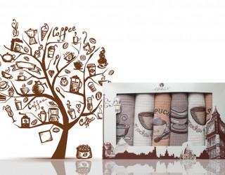 Купить скатерть новогодние рисунки. Купить кухонную скатерть. Купить скатерть из рогожки новогодние рисунки.Скатерть кухонная 18734-1 оптом и в розницу с доставкой по Украине