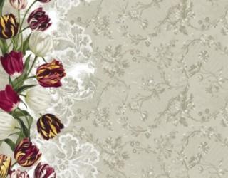 Рогожка диз: 30017-1 Королевский тюльпан