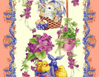Ткань скатертная столовая диз: 30073-3