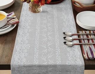 Ткань скатертная столовая диз: 35073-1 Верба