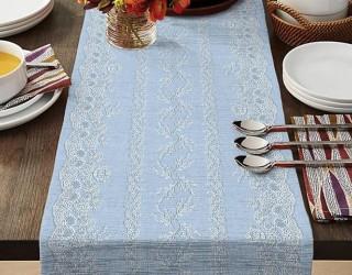 Ткань скатертная столовая диз: 35073-3 Верба