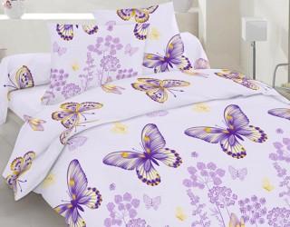Бязь набивная диз: 40-0604 violet