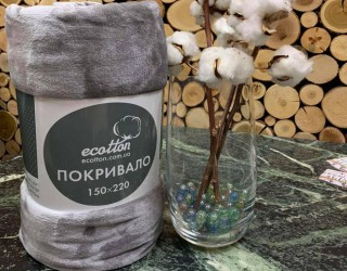 Покрывало well soft диз: 4478 Gray
