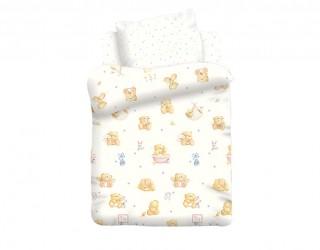 Комплект постельного белья поплин диз: 8825/8826-1 Маленькие мишки