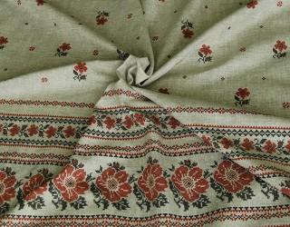 Рогожка диз: 9483-3 Русский цвет
