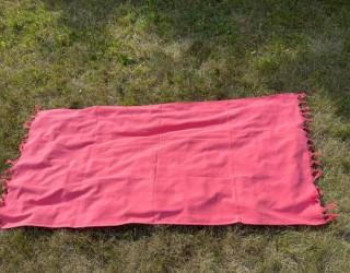 Полотенце-покрывало пляжное Коралловый
