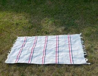Полотенце-покрывало пляжное White полоска