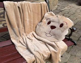 Набор для отдыха и путешествий для детей well soft диз: Beige
