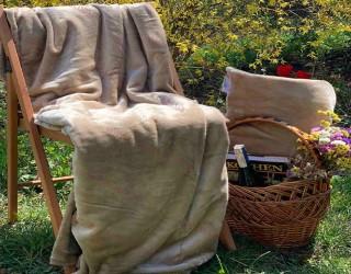 Набор для отдыха и путешествий well soft диз: Beige