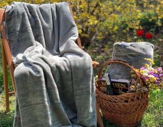 Набор для отдыха и путешествий well soft диз: Gray